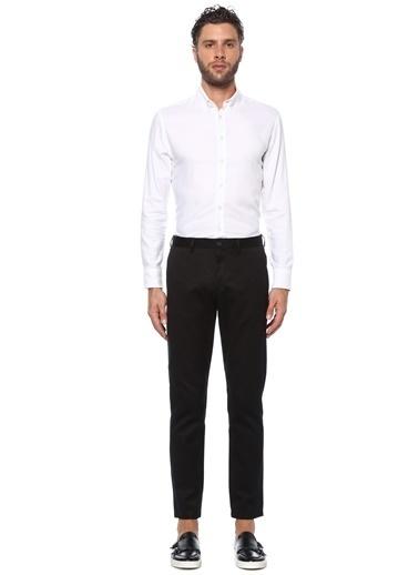 NetWork Erkek 1075787 Slim Fit Dokulu Pantolon Siyah